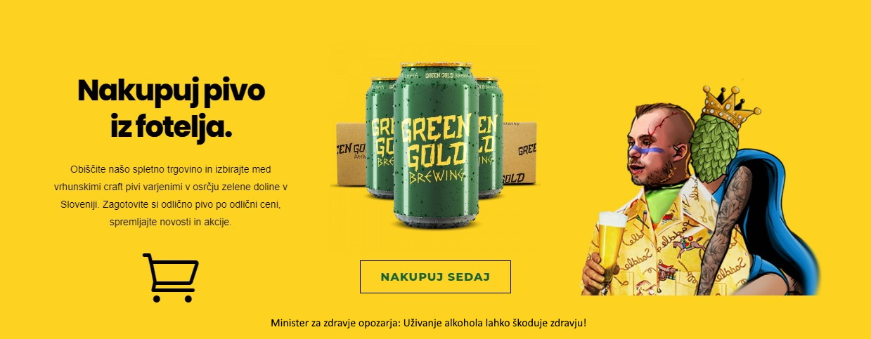 green gold brewing minister